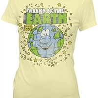Juniors SchoolHouse Rock! Friend of the Earth t-shirt available fro OldSchoolTees.com