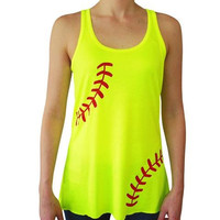 Preorder- Adult Softball Tank