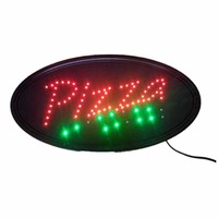 Neon Lights LED Animated Pizza Sign Customers Attractive Sign Store Shop Sign