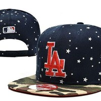 Perfect MLB Los Angeles Dogers Snapback hats Women Men Embroidery Sports Sun Hat Baseball Cap Hat