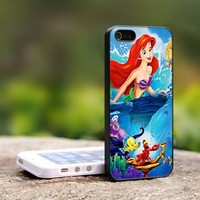 Ariel The Little Mermaid - For iPhone 5 Black Case Cover