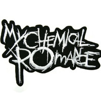 My Chemical Romance  Music Band Logo Embroidered Applique Iron on Patch