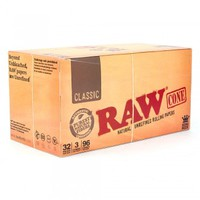RAW Pre-Rolled Cones King Size - Packaged For Retail