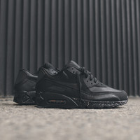 NIKE Air Max 90 Premium - Black / Metallic Silver