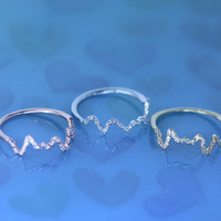 Telepathy/For love and friendship ring /The frequency of love