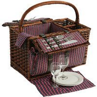 Willow Picnic Basket for 2 Persons 210
