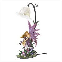 Orchid Fairy Table Lamp | GiftBytes - Collectibles on ArtFire