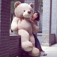 Cute Large Giant Stuffed Bear Plush Animals Cute Soft Toys Teddy Bears Cartoon Toy Dolls Oyuncak Girls Christmas Gifts 50T0208