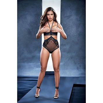 Underwire Lace Teddy