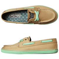 SPERRY CRUISER 3 EYE SHOE - SAND MINT