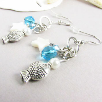Nautical Dangle Earrings