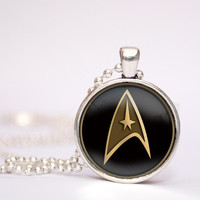 Star Trek Command Science Medical pendent necklace