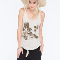 Roxy Palm Beach Sz Womens Tank Natural  In Sizes