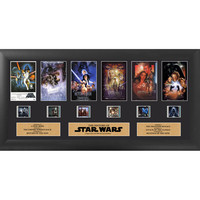 Star Wars Through The Ages Framed Film Cell