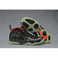 Air Foamposite Pro Black/Red Luminous shoes 40-47
