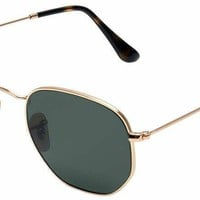 Ray-Ban Sunglasses Hexagonal RB3548N 001/51 new with tags