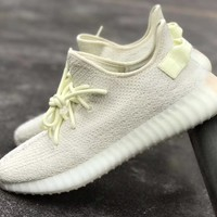 BC HCXX Adidas Yeezy Boost Kanye West 350 V2 Ice F36980 (NOW Butter) 2018 PRE ORDER
