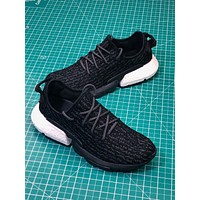 Adidas Yeezy P.o.d System Black Sport Running Shoes