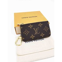 LV Louis Vuitton Fashion Small Bag Change purse key bag LV Print