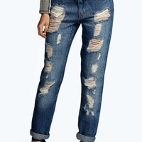 Sofia Relaxed Fit Boyfriend Jeans