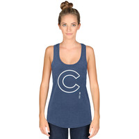 '47 Chicago Cubs Women's Royal High Point Tank Top