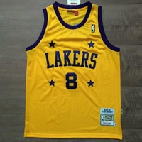 LA Lakers #8 Kobe Bryant 2004-05 Retro Swingman Jersey