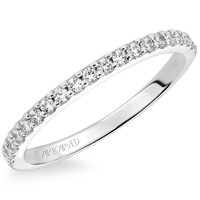 "Artcarved ""Allison"" Prong Set Classic Straight Diamond Wedding Ring"