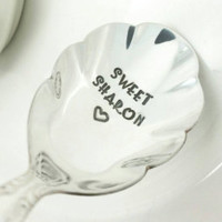 Personalized Hot Tea Spoon, Coffee Spoon, Gift for Daughter, Gift for Mom, Gifts for Grandma, Gift for Nana, Hot Tea Gift