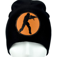 Call of Duty Soldier Beanie Alternative Clothing Knit Cap Black Ops III