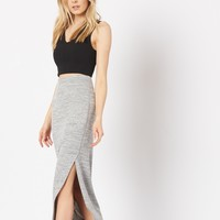 Midi Skirt With Slits