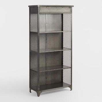 Metal Bexley Bookcase