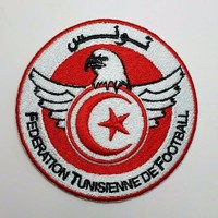 2pcs Football soccer fussball National Team Tunisia logo iron on Patch Aufnaeher Applique Buegelbild Embroidered-in Tape from Home Improvement on Aliexpress.com | Alibaba Group