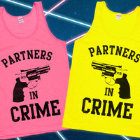 Partners in Crime Best Friends Tanks   lookhuman.com