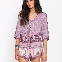 Xanadu Playsuit – Purple Haze
