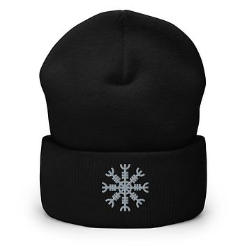 Helm of Awe Aegishjalmr Cuffed Beanie