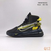 702 Nike Air Max 720 Satrn Hight Breathable Sneakers Knit Casual Fashion Basketball Shoes