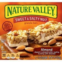 Nature Valley Sweet & Salty Nut Almond Granola Bars 6 ct