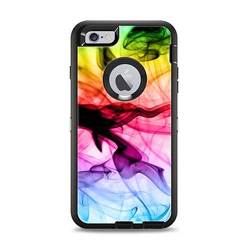 The Neon Glowing Fumes Apple iPhone 6 Plus Otterbox Defender Case Skin Set