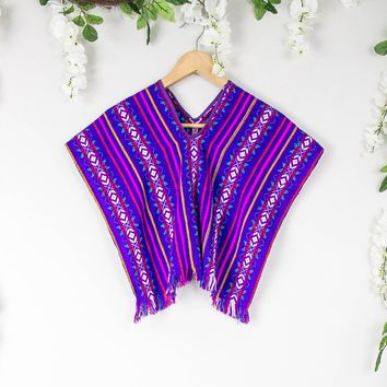 Vintage Mexican Festival Crop Top