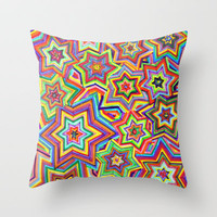 we are the star Throw Pillow by Federico Faggion