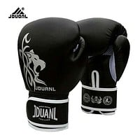 10 oz PU Muay Thai Boxing Gloves MMA Sanda Martial Kungfu 2017 New Women Men Fighting Sandbag Training Mitts luvas boxeo Guantes
