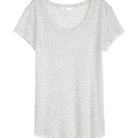 Lyocell Jersey Top - from H&M