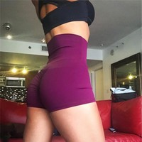 Push Up High Waist Gym Shorts