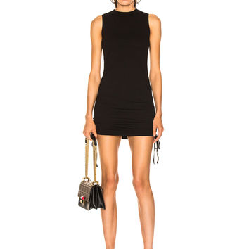 COTTON CITIZEN Lisbon Tank Dress in Jet Black | FWRD