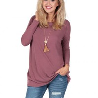 Sunset Glow Sweater Tunic | Monday Dress Boutique