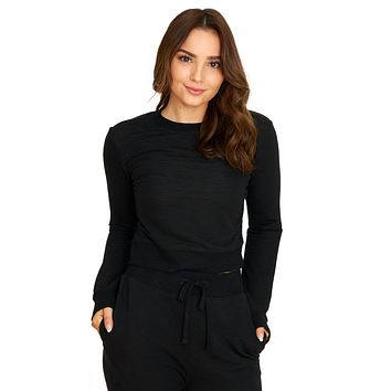 Cozy Days Black Pullover Sweater