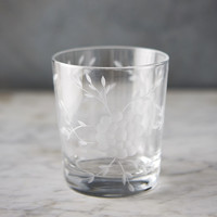 Etched Blooms Tumbler