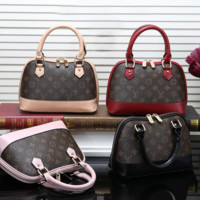 Louis Vuitton Women Fashion Leather Tote Shoulder Bag Crossbody Satchel