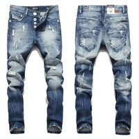 Slow Burn Designer Jeans