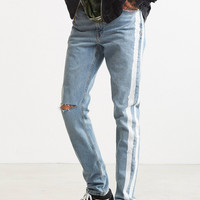 BDG X Urban Renewal Side Stripe Painted Skinny Jean | Urban Outfitters